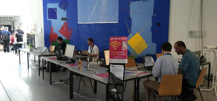 Erfolgreiche Teilnahme bei der FrOSCon