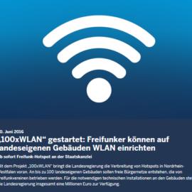 Projekt NRW 100, Freifunk Troisdorf – Update
