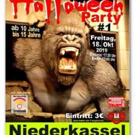 """Freifunk unterstützt den JGV """"Echte Fründe"""" und ROUTEMASTER-MONDORF bei der Halloween Party #1"""