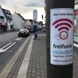 """""""Einfach Lose"""" mit Freifunk-WLAN in Spich"""