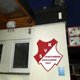 Sportplatz des SV Kriegsdorf an Troisdorfer Freifunknetz angeschlossen
